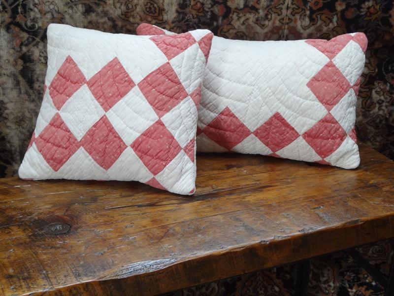 Reclaimed Quilt Pillows