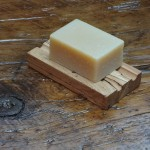 Reclaimed Spalted Maple Floorboard Soap Dish