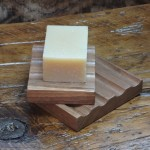 Reclaimed Walnut Floorboard Soap Dish