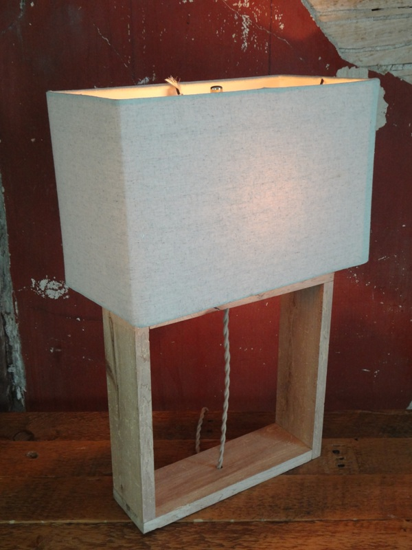 Spalted Maple Table Lamp