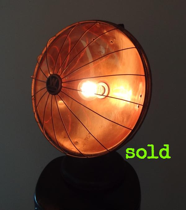 Copper Heater Light