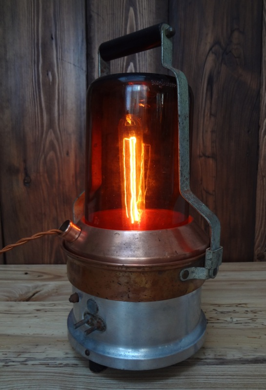 Copper Vapourizer Light