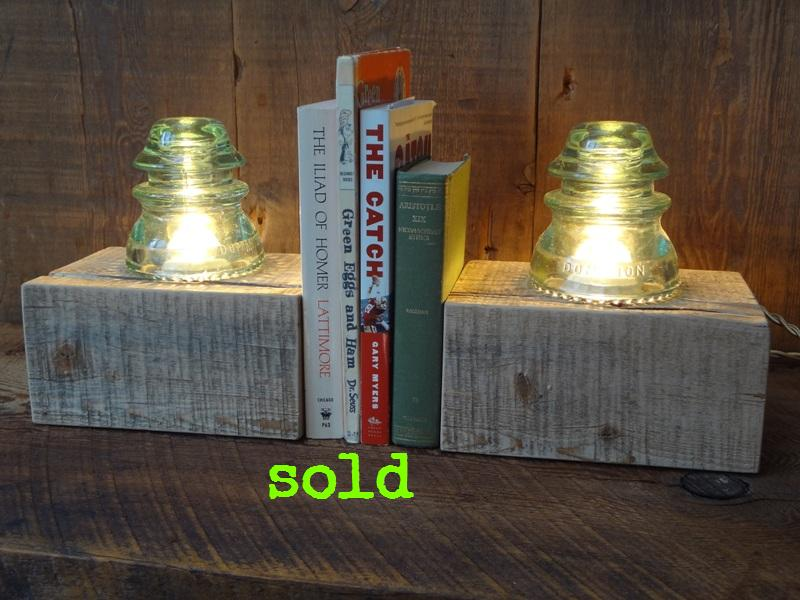 Insulator Bookends