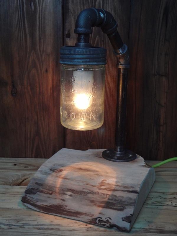 Little Lime Cord Mason Light