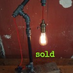 Little Pulley Light with Red Cord
