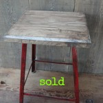 Red Walnut Stool